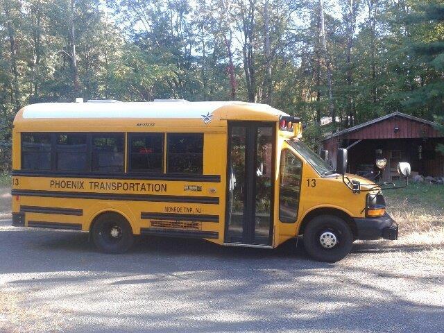 2015 Chevy School Bus STK #6508-4818