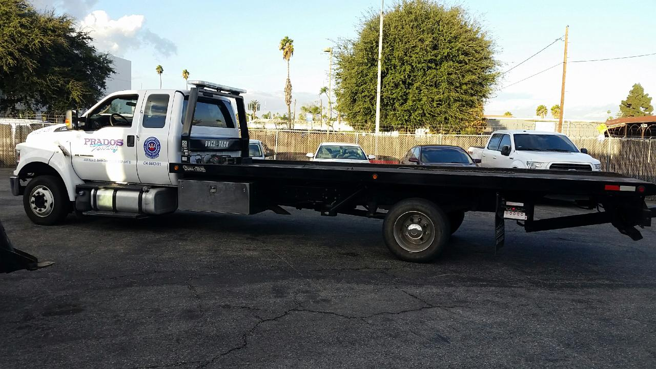 2017 Ford F650 Roll Back Flat Bed STK #6572