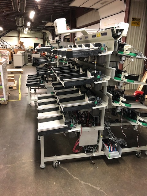 Maxim 42 Refurbished 280 Pocket Sorter with Tray Racks Model Number 8100 STK #7063.