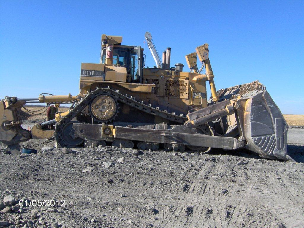 2001 Caterpillar D11r Carry Dozer Wo 4860 Click On An Image To