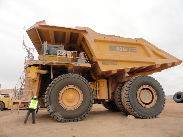 2013 Komatsu 930E-4 Haul Truck Unit 249 STK #5526-3666