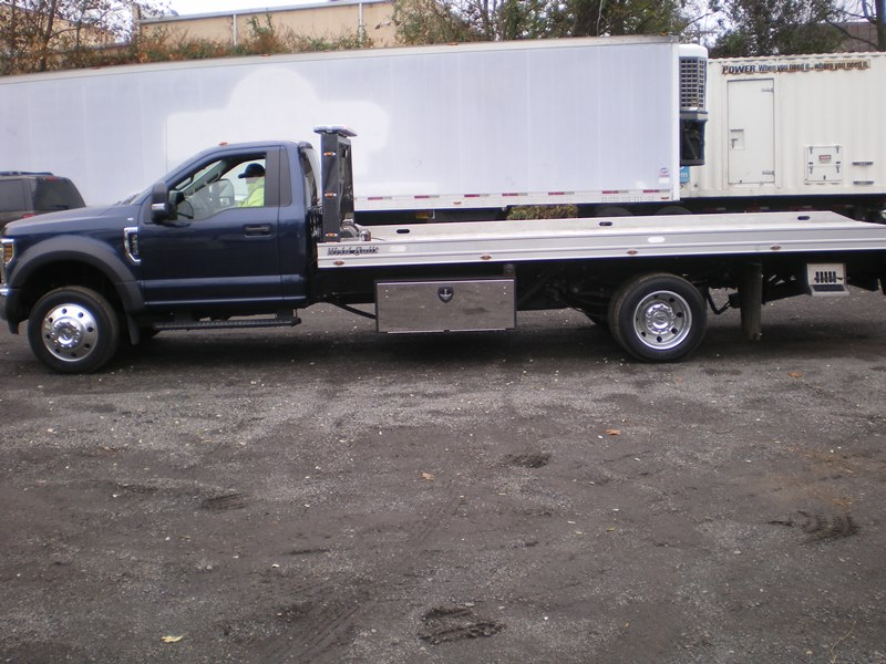 2019 Ford F550 Aluminum Weld Built Flatbed Tow Truck  STK #7018