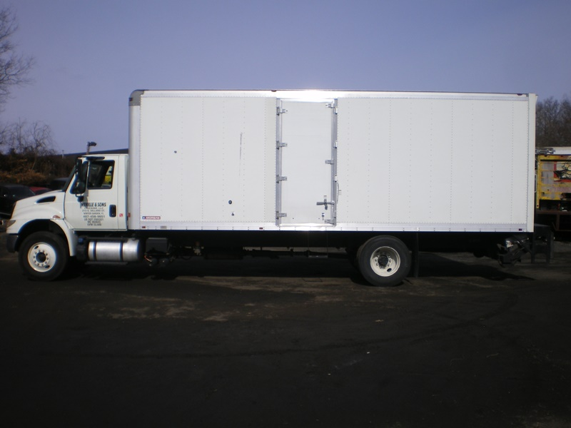 2015 International 4300 Hino Box Truck STK #6656-5031