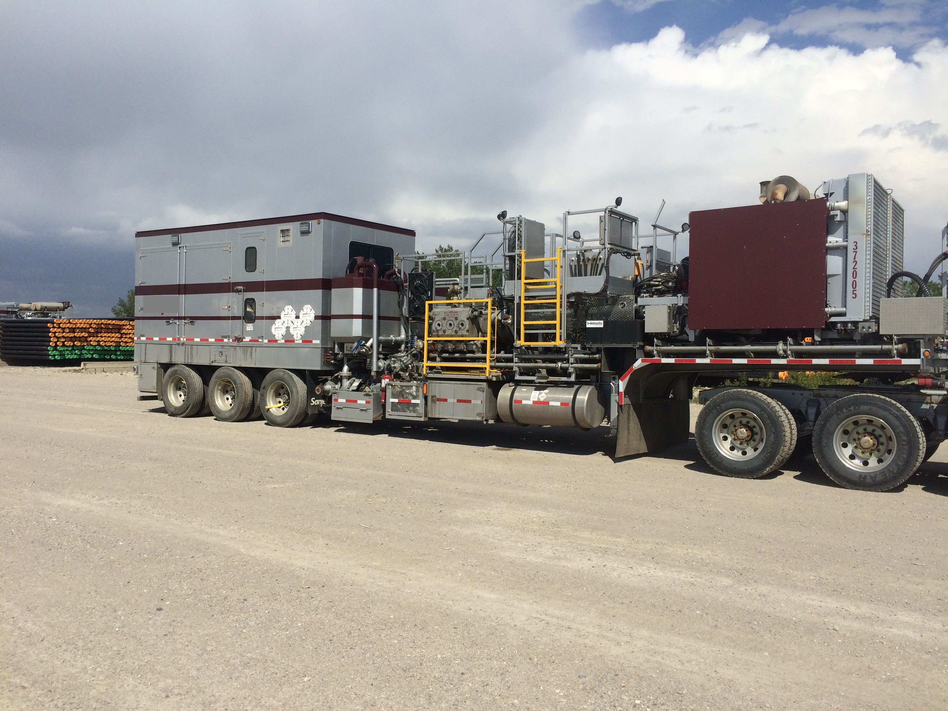 TWS HP Twin Coil Cement Pumper STK 5825-4118