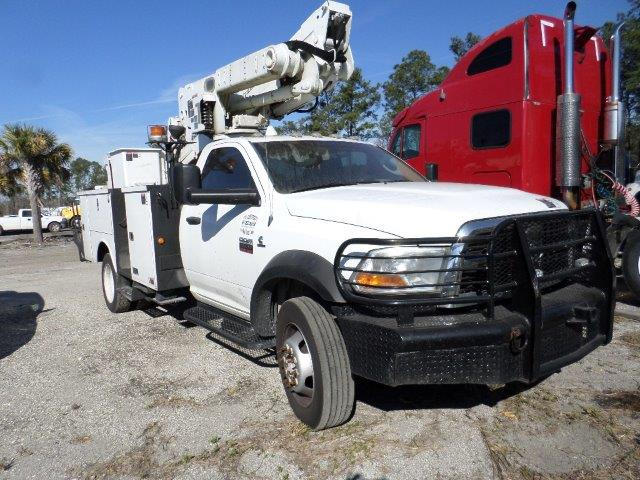 2011 Dodge 5500 4x4 Bucket Truck STK #6581